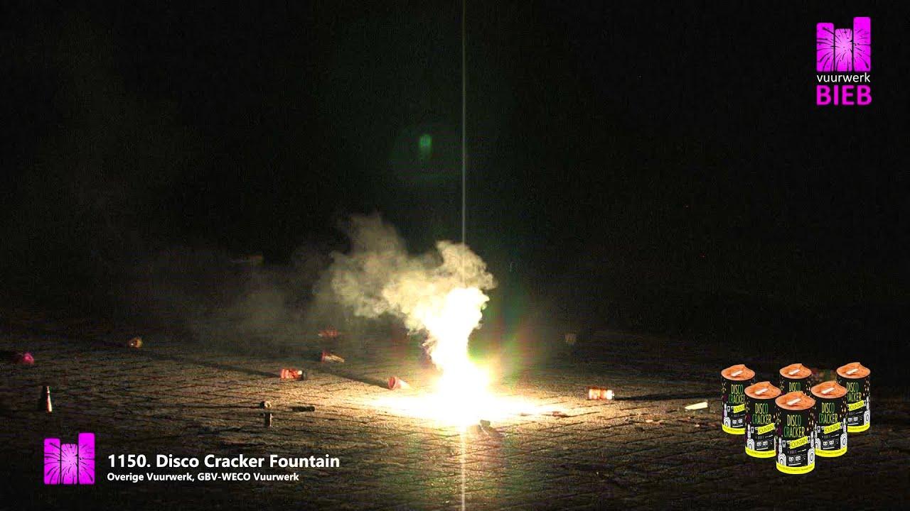 B2b Disco Cracker Fountain.Disco Cracker Fountain 6 Stuks Vuurwerk Outlet Joure Professioneel Vuurwerk Voor Dumpprijzen Op Op