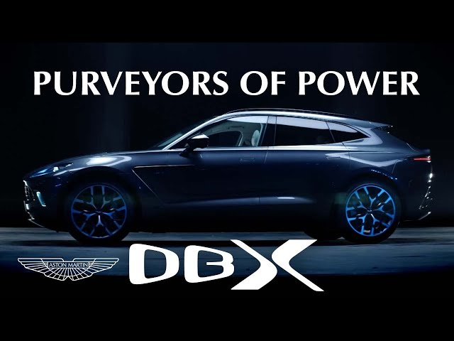 Purveyors of Power | This is Aston Martin