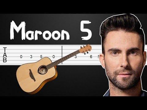 sugar---maroon-5-guitar-tabs,-guitar-tutorial,-guitar-lesson