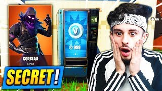 "🔴 FORTNITE with THE NEW ""HIDDEN DISTRIBUTOR"" and SKIN SECRET ""RAVEN""!! (TOP 1 - DANSE)"