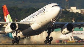 12 HEAVY Plane LANDINGS And DEPARTURES - Airbus 330 | ILYUSHIN 76 | Boeing 747 / ASKCargo 002#