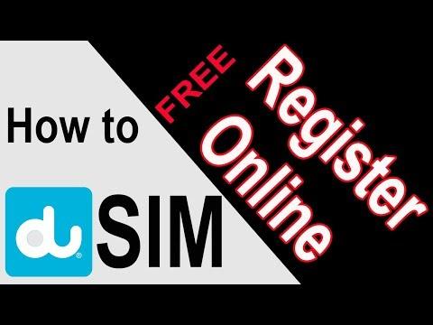 How To Register DU Sim Online With Emirates ID (Urdu/Hindi)