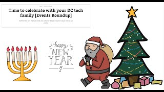Tim Cook in DC, Vox Media Valued at $400M and #DCTech Holiday Events