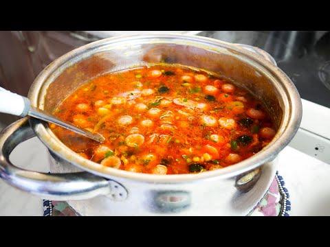 СОЛЯНКА Сборная Мясная (Суп) ПРОСТОЙ РЕЦЕПТ очень вкусной СОЛЯНКИ