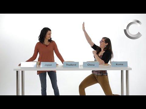 Asian People vs. Asian Food (Final Episode): Lineup