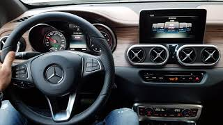 Mercedes X-class TEST DRIVE MAX SPEED