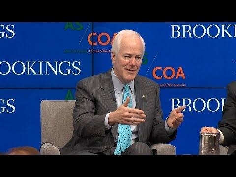 Security, trade, and the U.S.-Mexico border: Remarks by Sen. John Cornyn