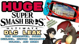 Download Huge Smash Ultimate Dlc Leak New Character Stage Builder