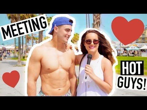 Asking Hot Guys Why They're Single!