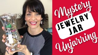 $35 Jewelry Jar Unboxing  | Thrift Store Jewelry Jar Unjarring  |  Risky Purchase?