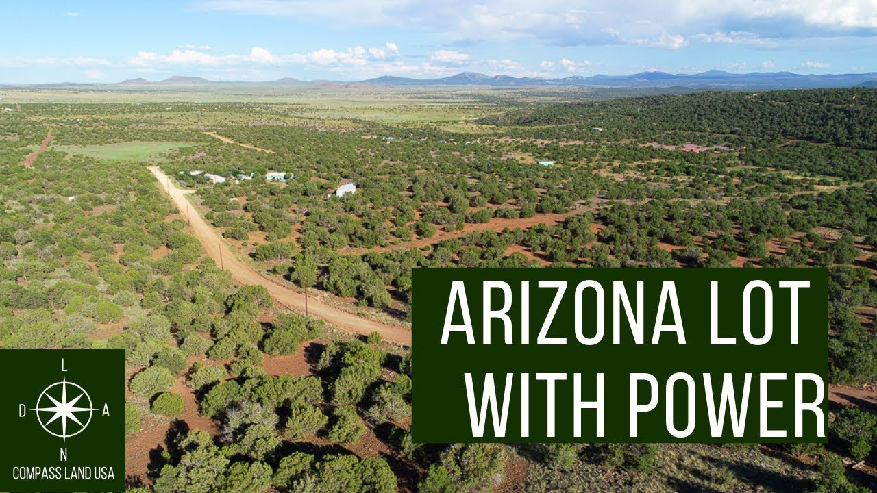 Sold by Compass Land USA - 1.03 Acres Arizona Land with Power $399 Down