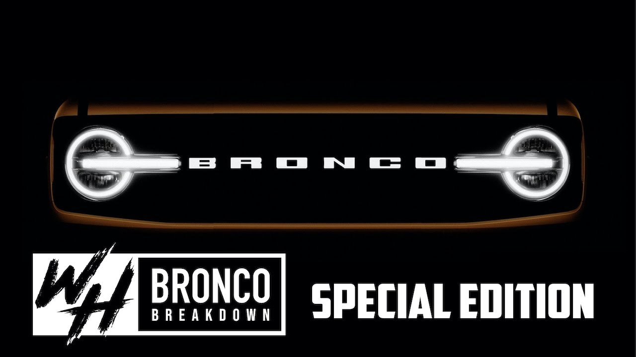 The Bronco Breakdown: The Biggest 2020 Ford Bronco Sneak Peak to Date?!