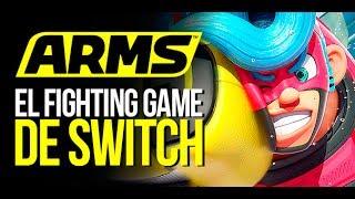 ARMS: Así es el FIGHTING GAME de SWITCH