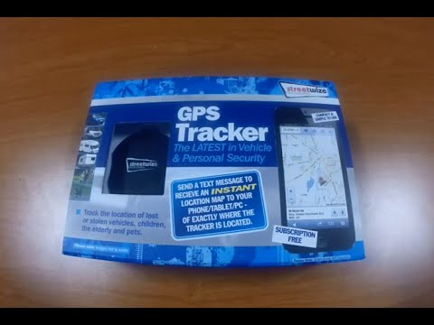 Streetwize Vehicle & Personal GPS Tracker Installation