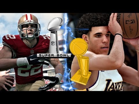 NBA All Rookie Team VS NFL All Rookie Team! Who Wins First Championship?