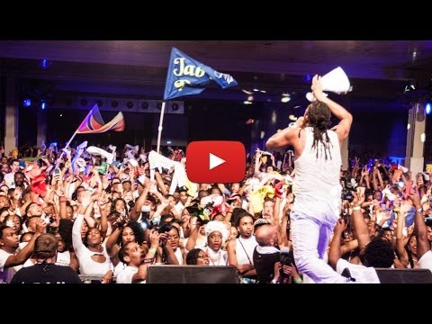 Machel Montano LIVE On Stage @ Glow for Berlin Carnival 2014