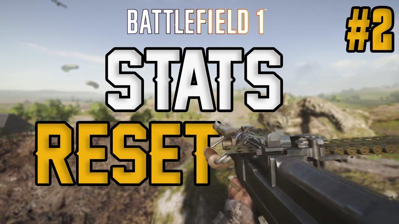 battlefield 1 reset stats