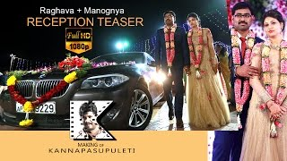 Raghava + Manognya  Reception teaser