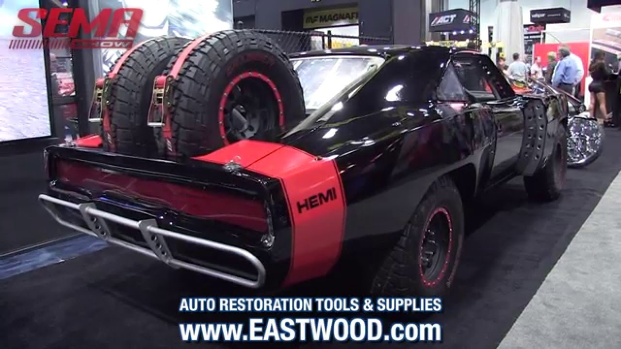 Furious 7 Off Road Dodge Charger In The Magnaflow Booth Sema 2015 Custom Wheels Eastwood Youtube