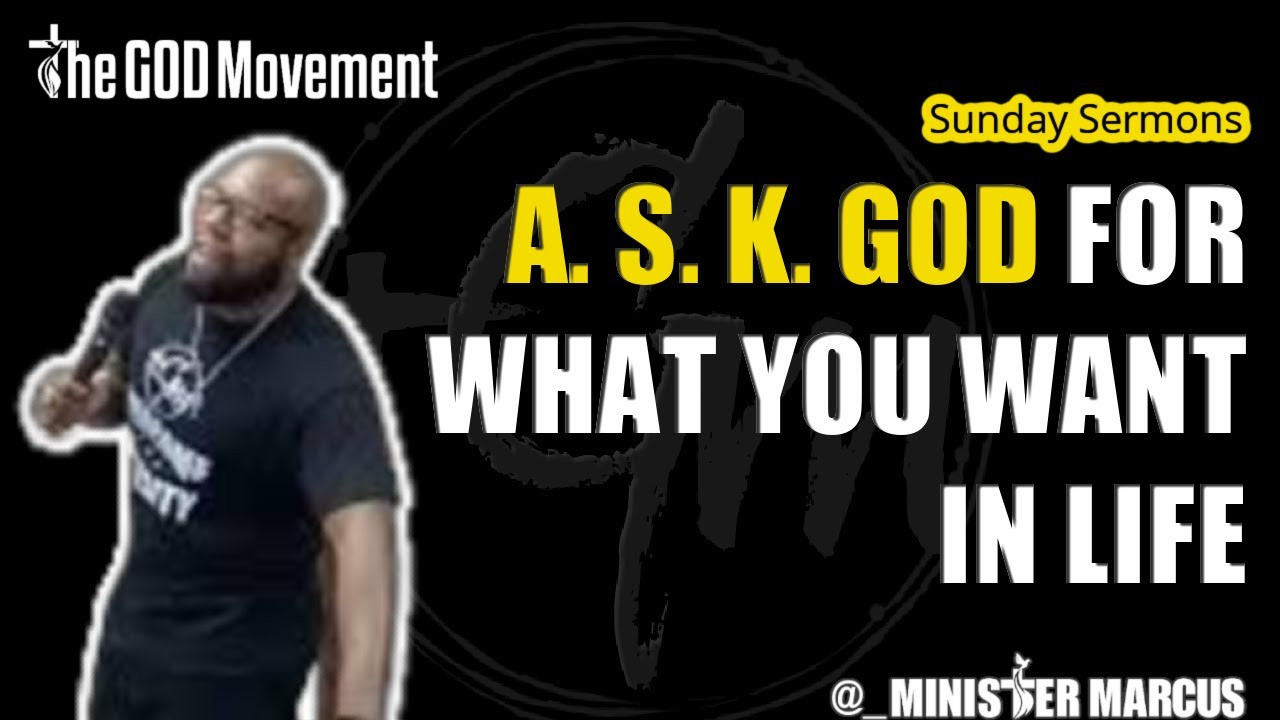 Ask God For What You Want in Life