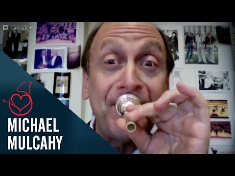Michael Mulcahy live from Chicago on Sarah´s Horn Hangouts