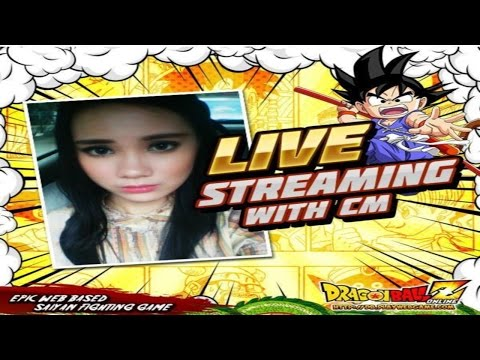 Dragon Ball Z Online - During the Live Streaming With CM INES