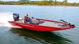 Triton 17 TX Aluminum Bass Boat