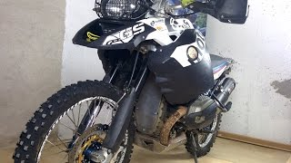 Preparación BMW R 1200 GS Adventure para OffRoad