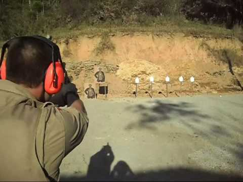 Tiro Pistola Taurus PT 100 .40