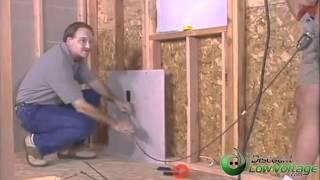كيفية تشغيل كابل من خلال الجدار مظاهرة المنزل سهلة لتركيب كابلات – YouTube