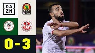 Aus der Traum! Absoluter Underdog raus: Madagaskar - Tunesien 0:3 | Afrika Cup | DAZN Highlights