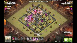 Clash of Clans TH9 vs TH9 THe Royal JKLBR GoLaLon Clan War 3 Start Attack 2016 06 11 11 12 42 245