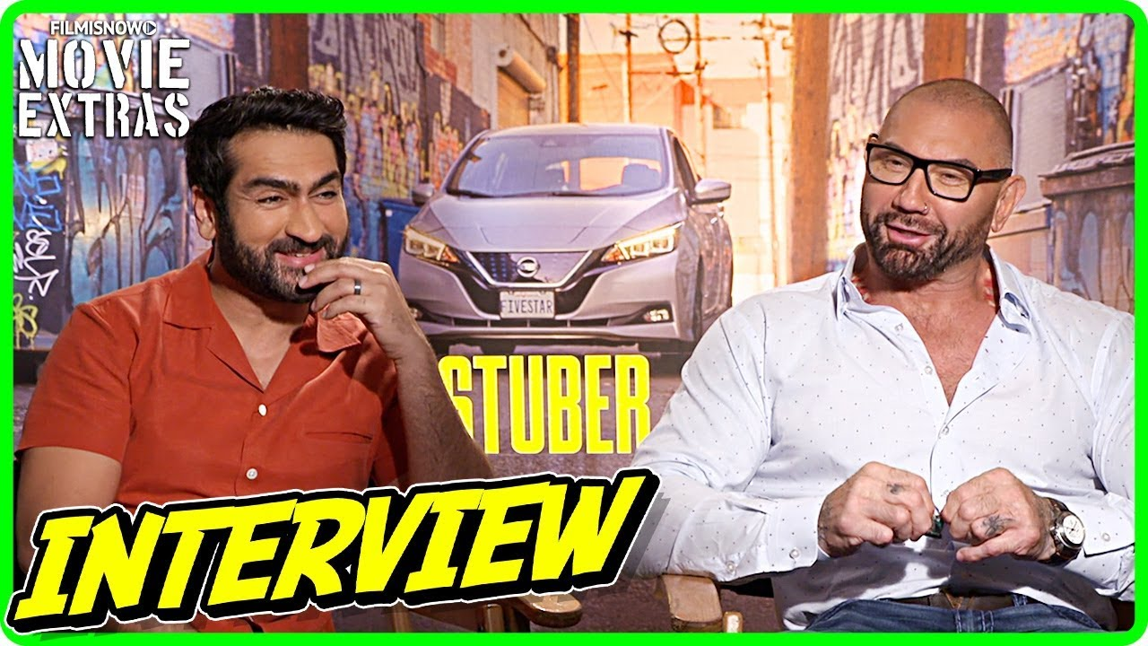STUBER | Kumail Nanjiani & Dave Bautista talk about the movie - Official Interview