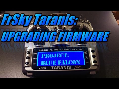 Taranis X9D: Upgrading Firmware