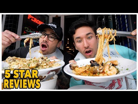 Eating At The BEST Reviewed Restaurant In San Francisco (5 STAR)