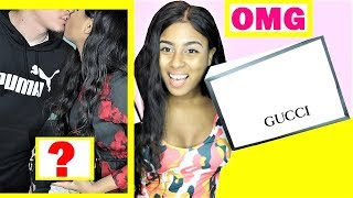 YOU WONT BELIEVE THIS! Boyfriend Surprises me With Gucci and birthday gifts - Vlogmas