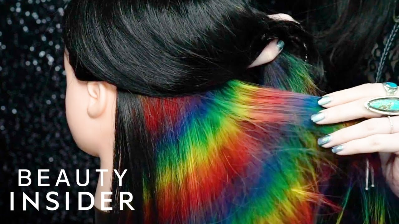 How To Get Hidden Holographic Rainbow Hair