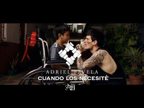 """Adriel Favela- """"CUANDO LOS NECESITE"""" (Video Oficial)"""