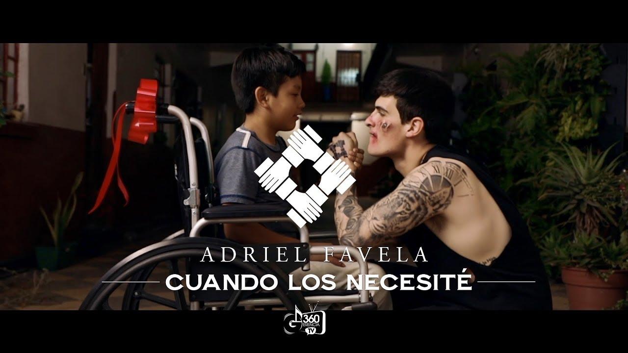 Adriel Favela Cuando Los Necesite Video Oficial