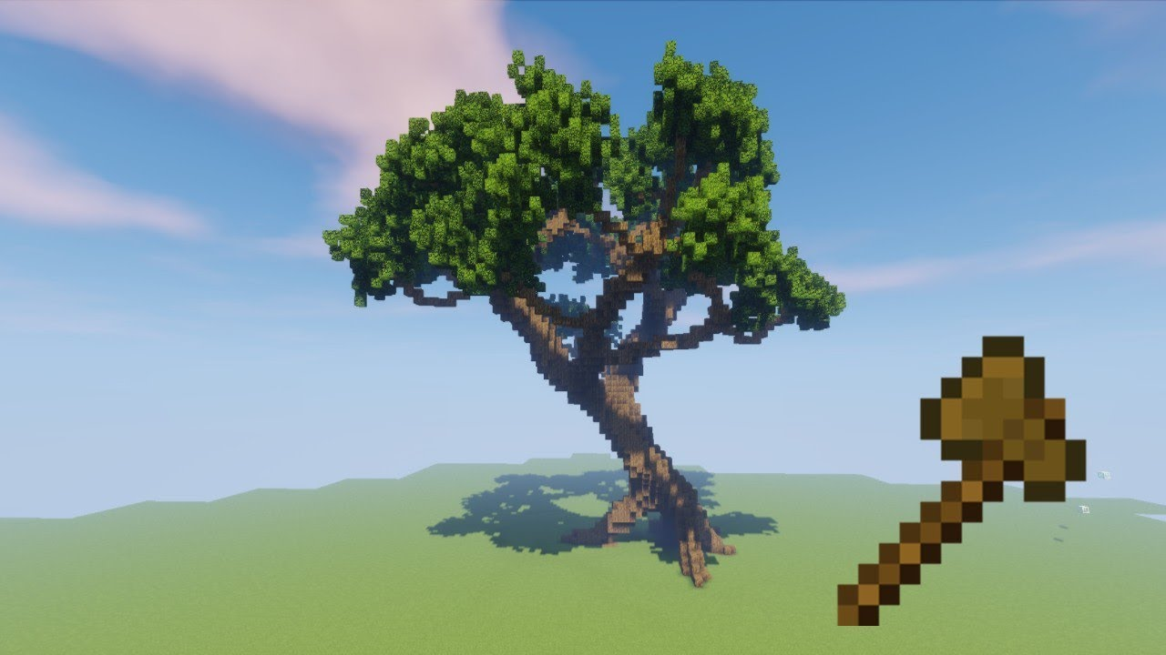 How to Build a Tree with Worldedit  YouTube