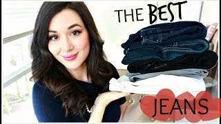 THE BEST JEANS | TOP 5 PAIRS & TRY-ON