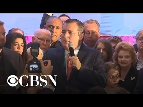 Sen. Ted Cruz gives victory speech after defeating Beto O\'Rourke