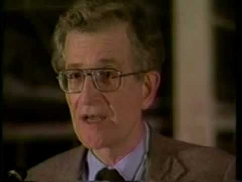 Noam Chomsky Speaks Out! - Oh Shut up Ronnie!  (1989)