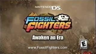 Fossil Fighters | Nintendo DS | Television Commercial | 2009