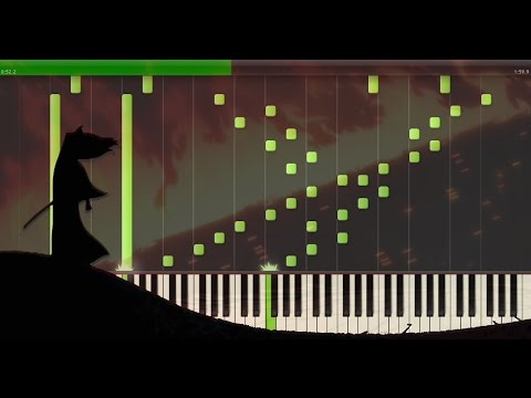Samurai Jack Tomb Scene EPIC Soundtrack for Piano The Ecstasy of Gold Synthesia Tutorial