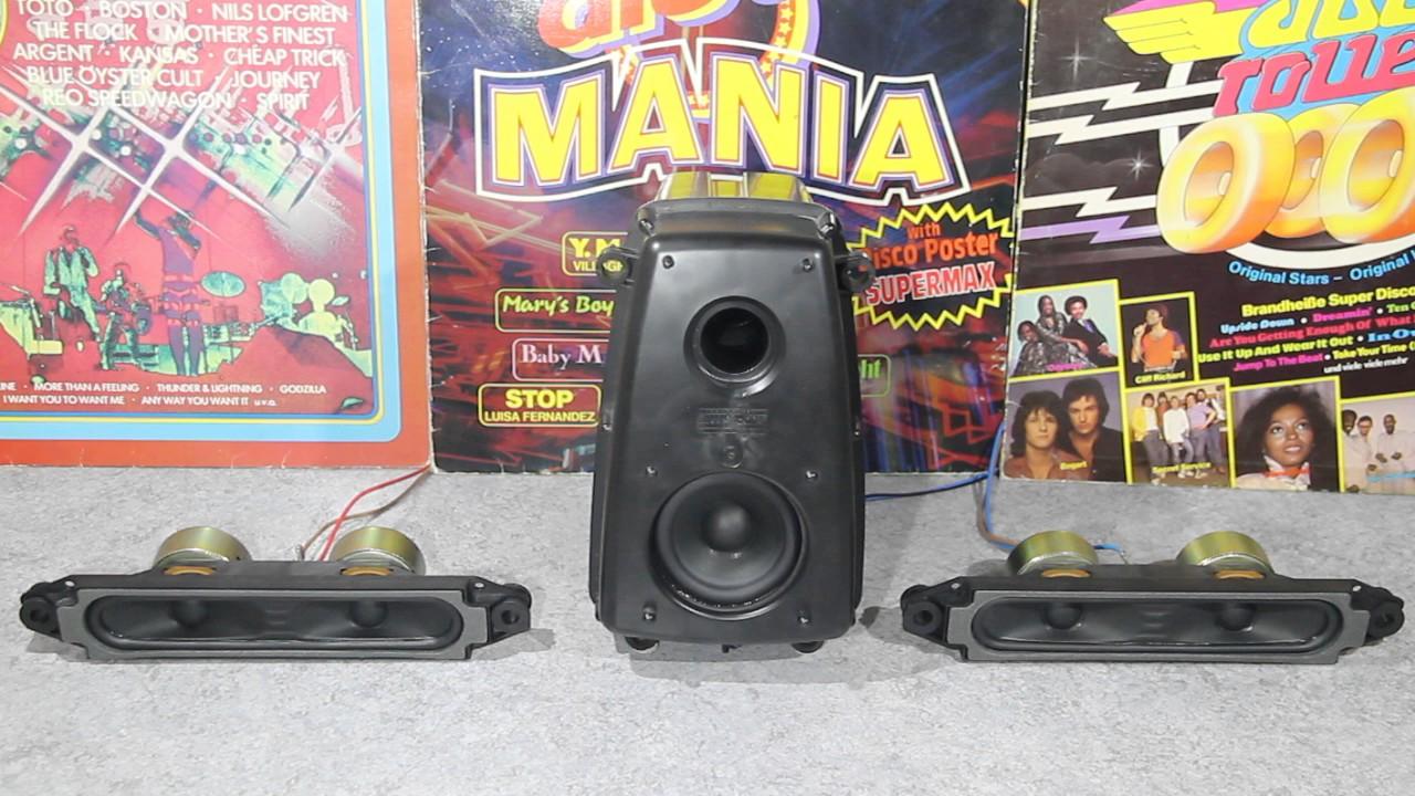 Sony trinitron Kv-32fx65b 2 1 crt tv speaker systeme ( test ) by LS&M —  Loudspeaker & more