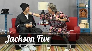 Jackson Five Garrando Amizade com a Tia