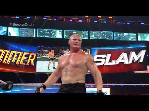 WWE SUMMERSLAM 2016 Brock Lesnar vs. Randy...