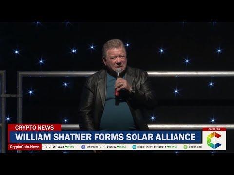 William Shatner Forms Solar Alliance