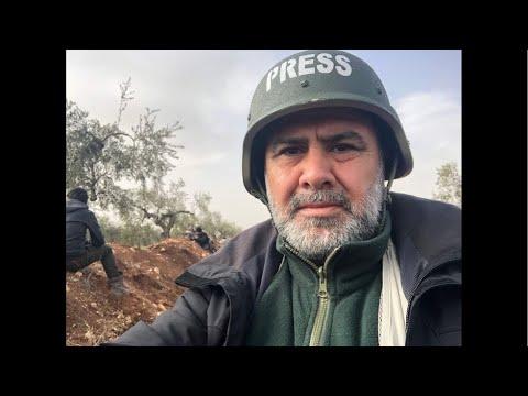 #Afrin den CANLI  #Zeytindalıoperasyonunu  DHA Savaş Muhabiri İrfan Sapmaz Suriye'de izliyor